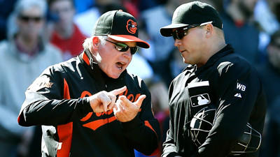 Looking back at Saturday's dugout-emptying Orioles-Red Sox game