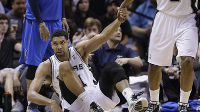 Tim Duncan leads Spurs to series-opening win over Mavericks
