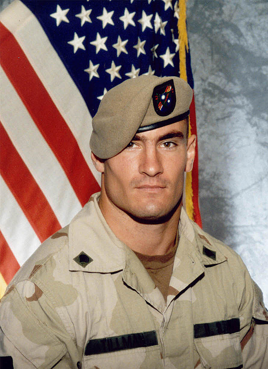 Cpl. Pat Tillman is seen in a 2003 file photo. He was killed during a friendly fire incident in Afghanistan on April 22, 2004.