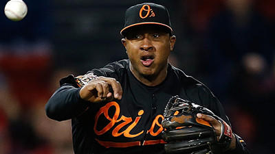 Jonathan Schoop not getting 'too far away from second base'