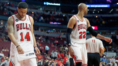 Game 1: Bulls go cold in 102-93 loss to Wizards