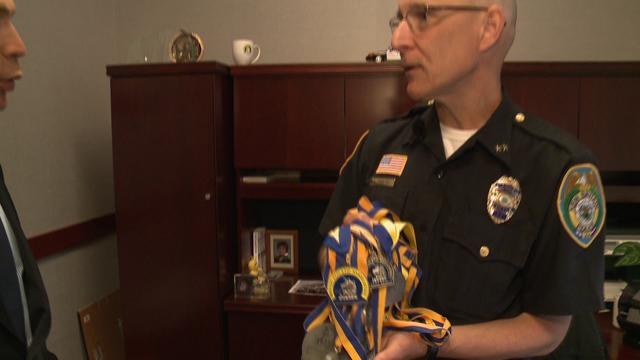 New Britain Police Chief Reflects On Running 2013 Boston Marathon