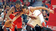 Joakim Noah lacks usual fire in Game 1 loss