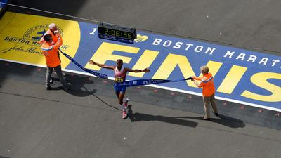 Boston Marathon features second-largest race field in history