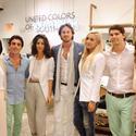 Bernarda Reyes, Christopher Dischino, Agustina Woodgate and Cameron Cervera