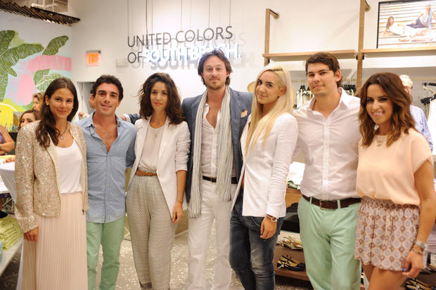 United Colors of Benetton hosted an all-day and night event at its South Beach store on April 17.
