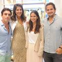 Christopher Dischino, Karina Atala, Bernarda Reyes and Sebastian Malavenda