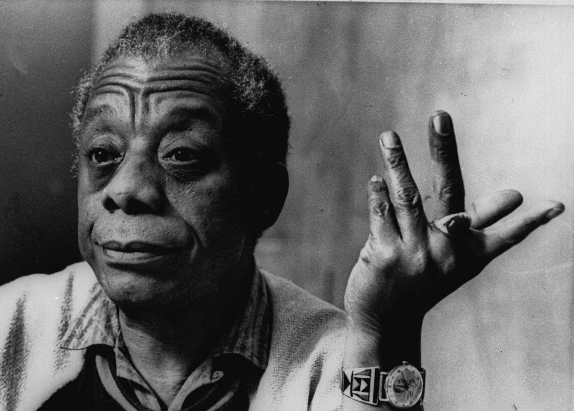 james baldwin poet but of course la times