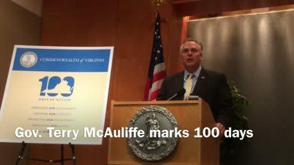 Video: Gov. Terry McAuliffe's First 100 Days
