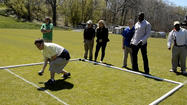 WWE stars join Special Olympians for bocce at Towson University [Video]