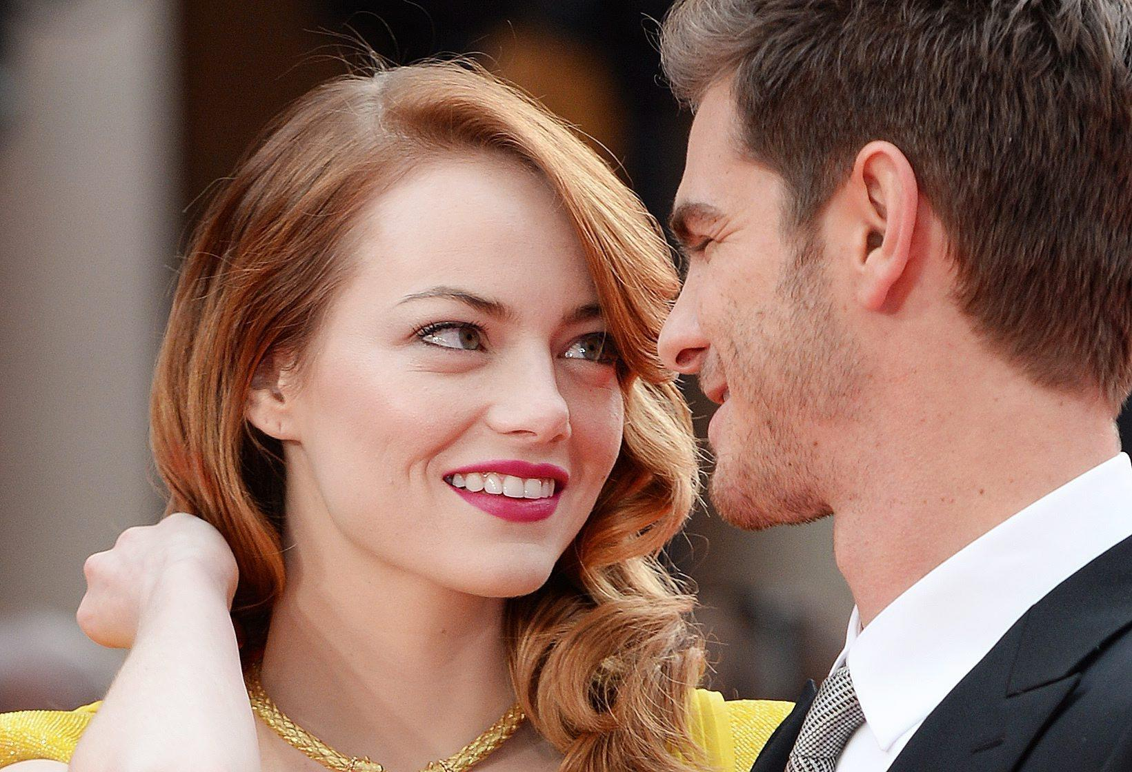 "Emma Stone, Vogue's May 2014, cover girl, tells the magazine that her costar and boyfriend Andrew Garfield is ""an incredibly important person to me."""