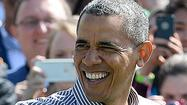 Obama's approval rating improves as healthcare drag eases