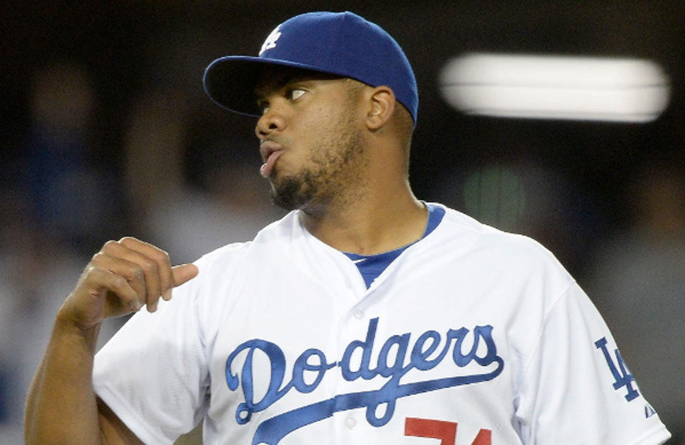 Dodgers closer Kenley Jansen leads all major league pitchers in appearances with 13.
