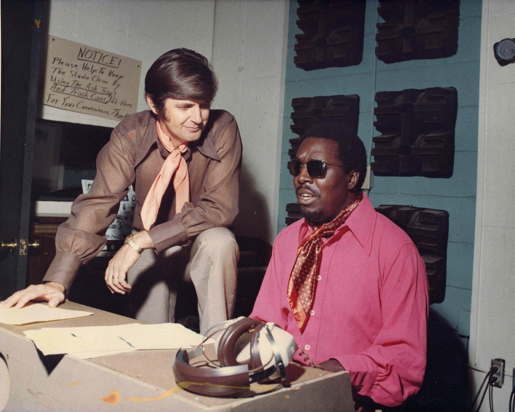 "Producer Rick Hall, right, shown with singer Clarence Carter, is a central figure in Greg Camalier's documentary ""Muscle Shoals,"" airing Monday on PBS' ""Independent Lens."""