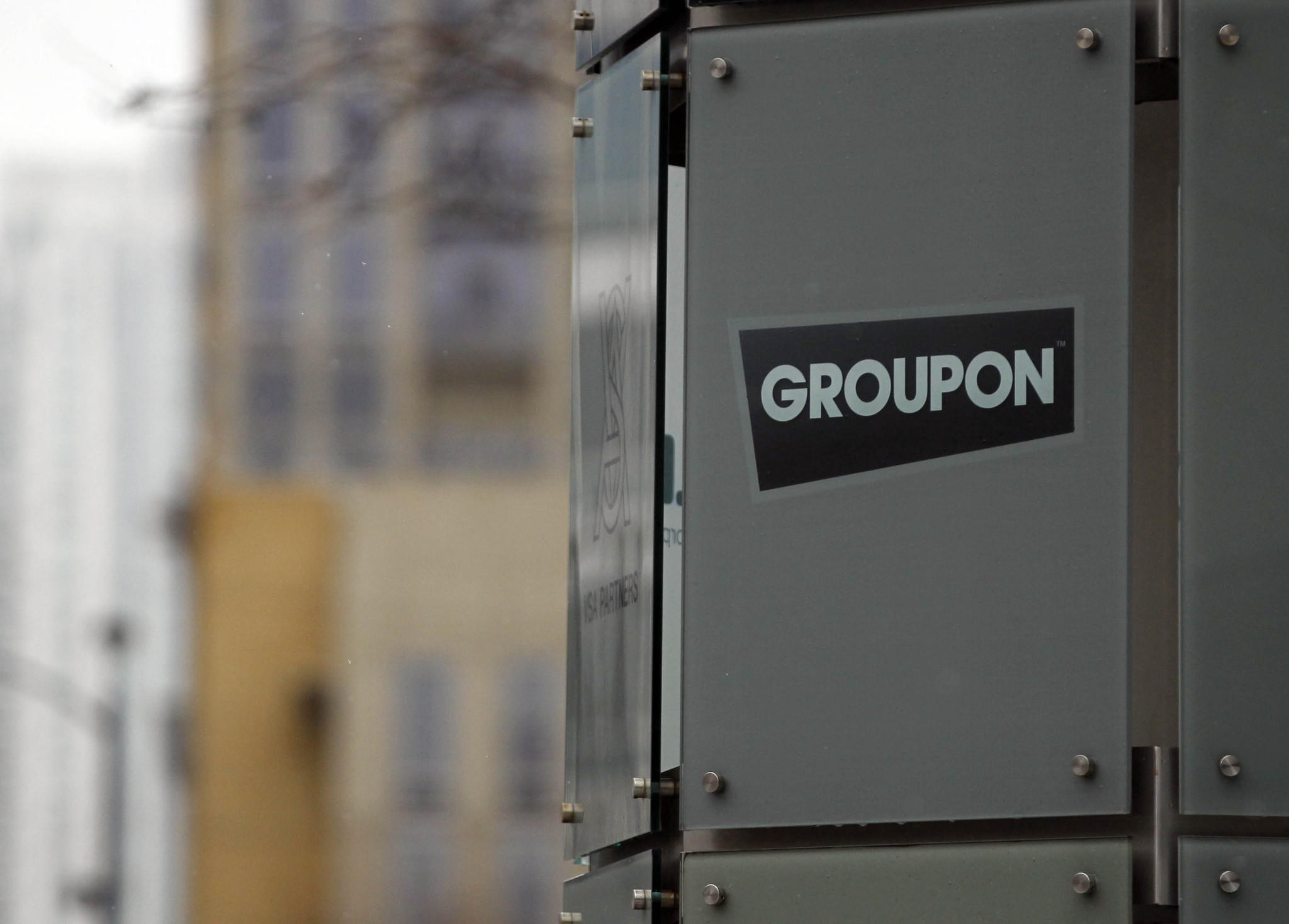 Groupon headquarters in Chicago.