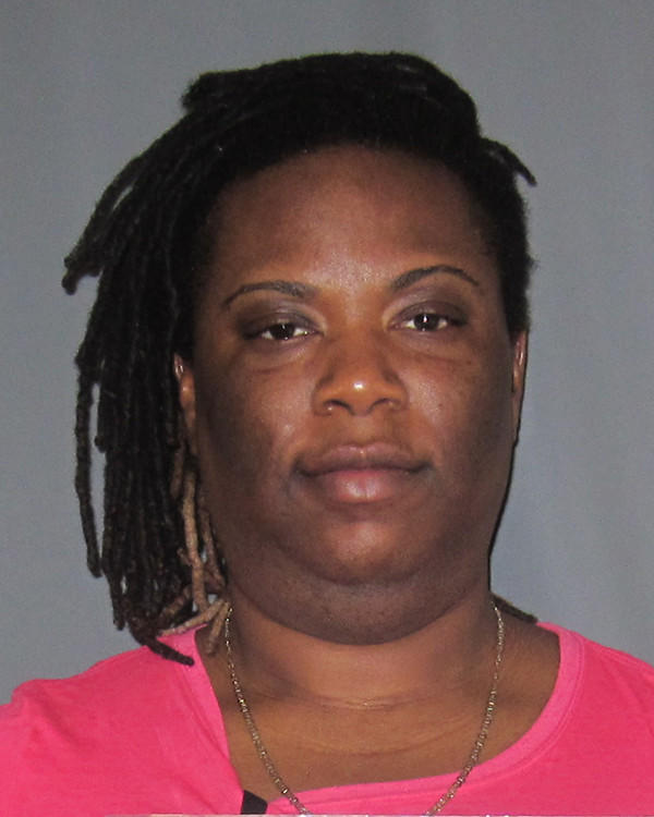 Police said Nakia Wright ran out of gas as she fled from Glastonbury police officers after allegedly breaking into a home and stealing a television and a credit card.