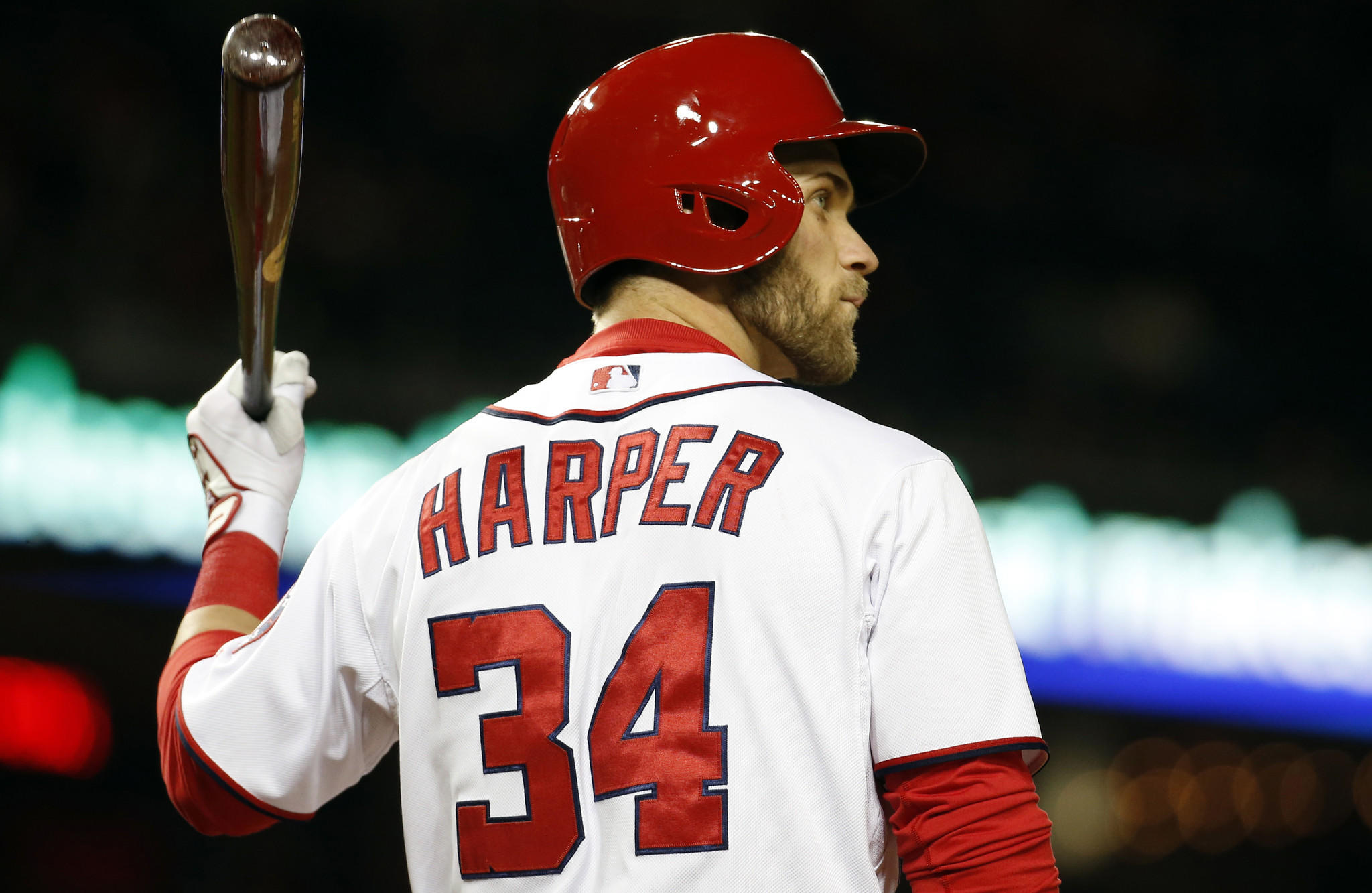 Washington Nationals left fielder Bryce Harper says he doesn't care if critics believe he's not as talented as Angels star Mike Trout.
