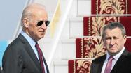 Joe Biden arrives in Ukraine as militants seize more buildings in east