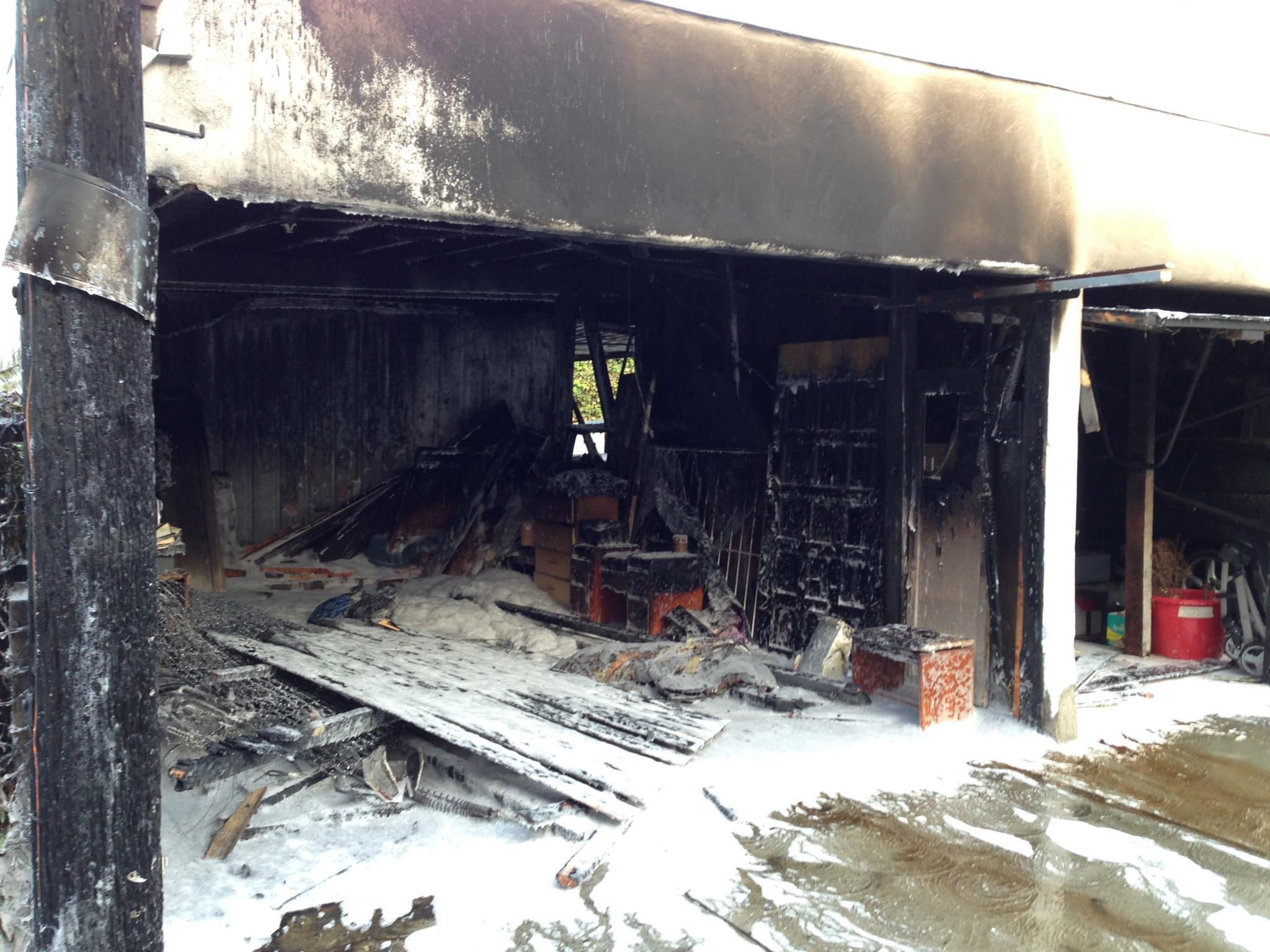 The latest possible arson fire, which occurred at 4:50 a.m. on Saturday, April 19, 2014, involved a mattress and it spread to a carport in the 400 block of East Harvard Street in Glendale.