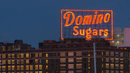 Domino Sugars sign goes solar