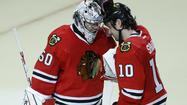 Shutout of Blues gets Hawks back in the game