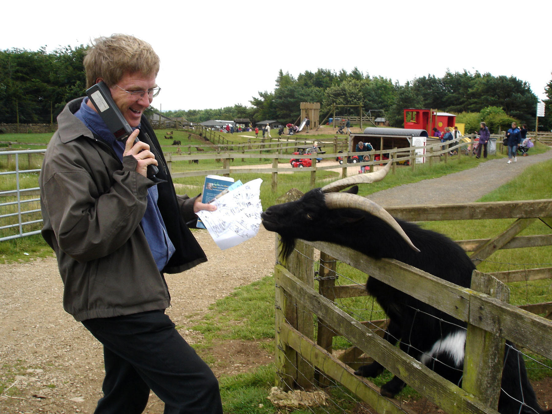 At the Cotswold Farm Park, visitors meet endangered breeds of native British animals and partake in farm demonstrations and tractor rides.