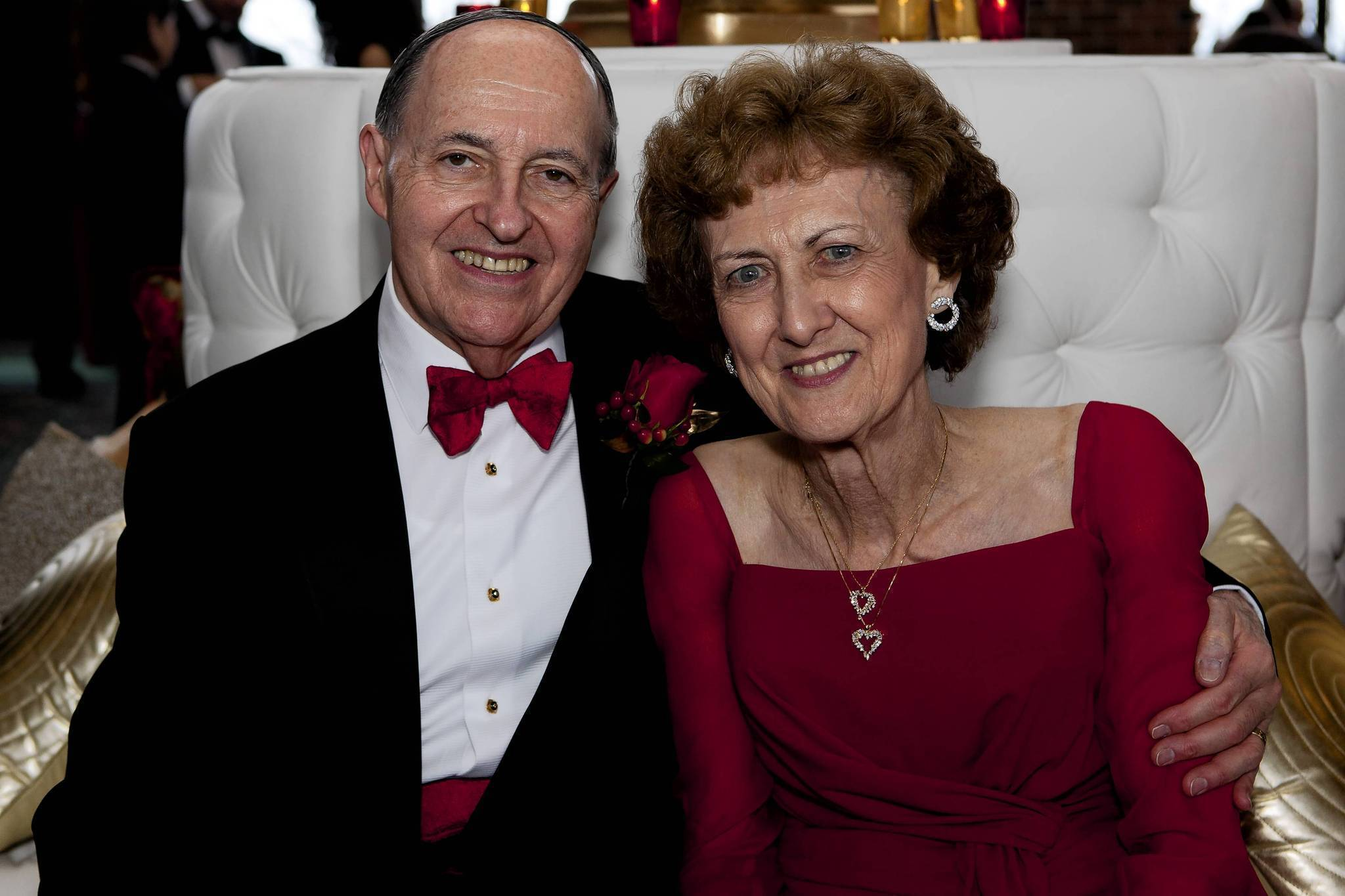 Paul and Joan Rubschlager at the Heart Association Ball.