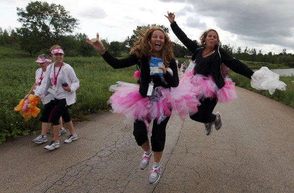There will be a Susan G. Komen race May 11 in Grant Park in Chicago.