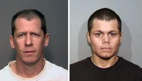 Steven Dean Gordon, left, and Franc Cano are suspected of killing four women in Orange County.