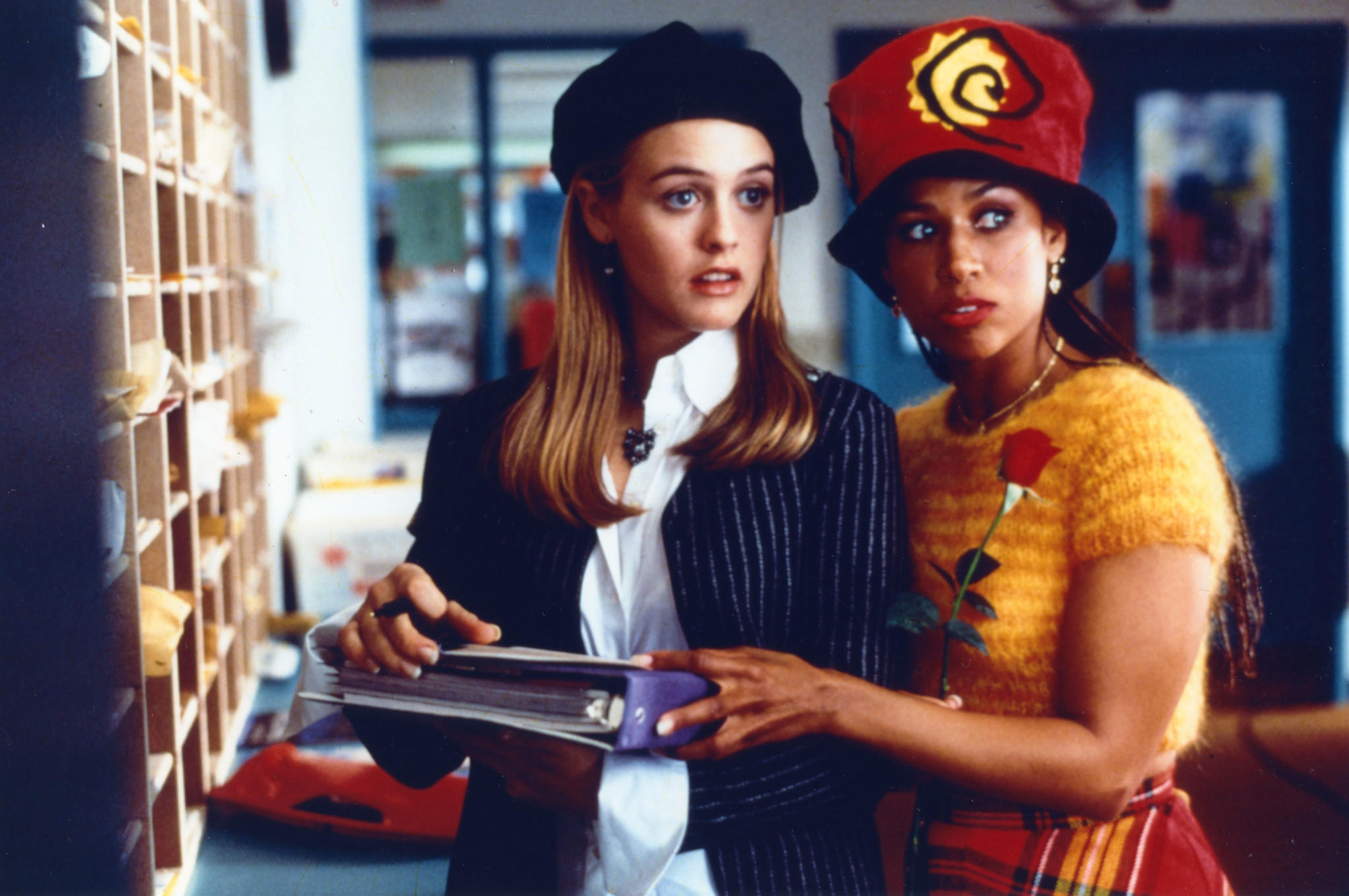 "Alicia Silverstone, left, and Stacey Dash in ""Clueless."""