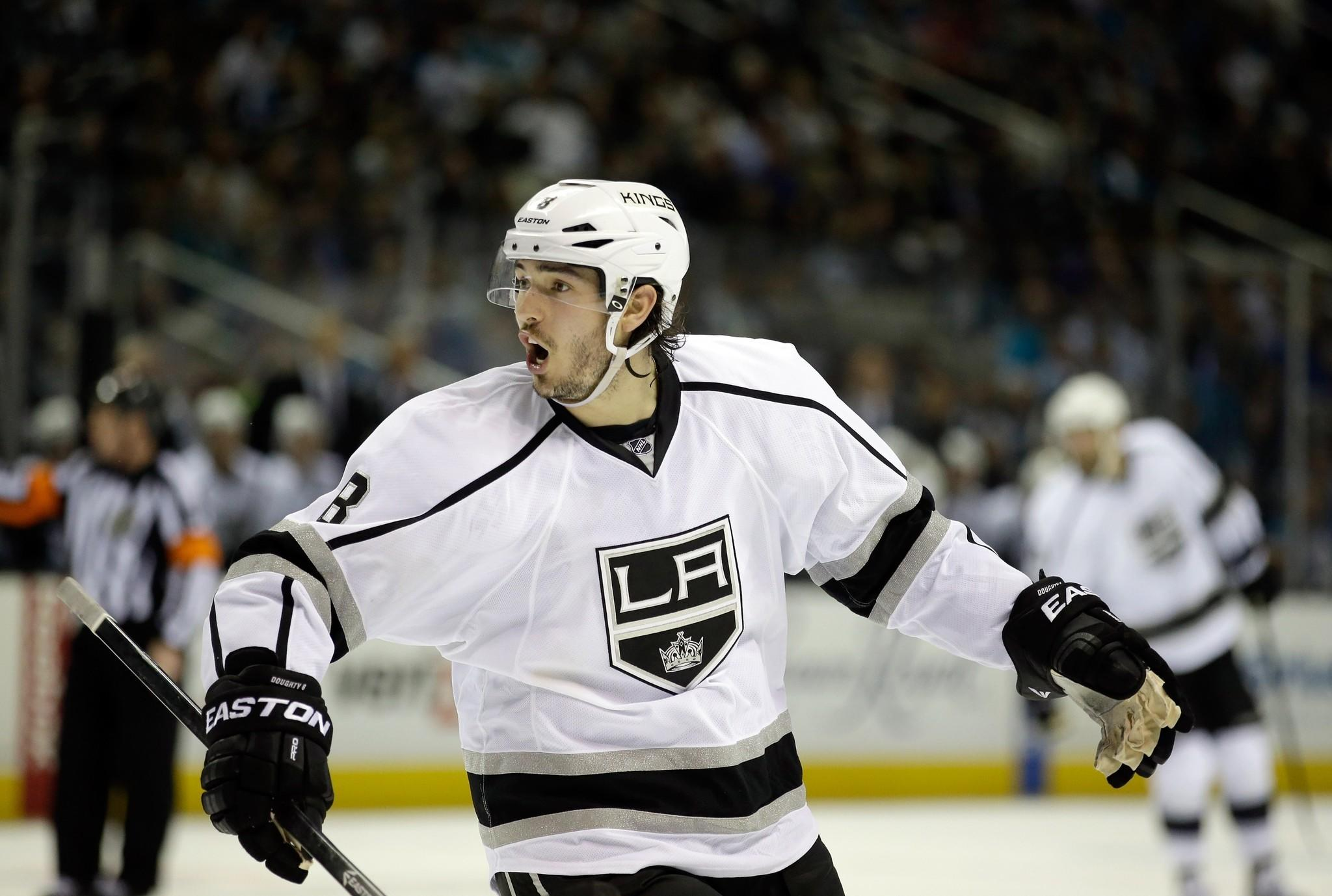 Drew Doughty wouldn't mind a little more ice time in the Kings' playoff series against San Jose.
