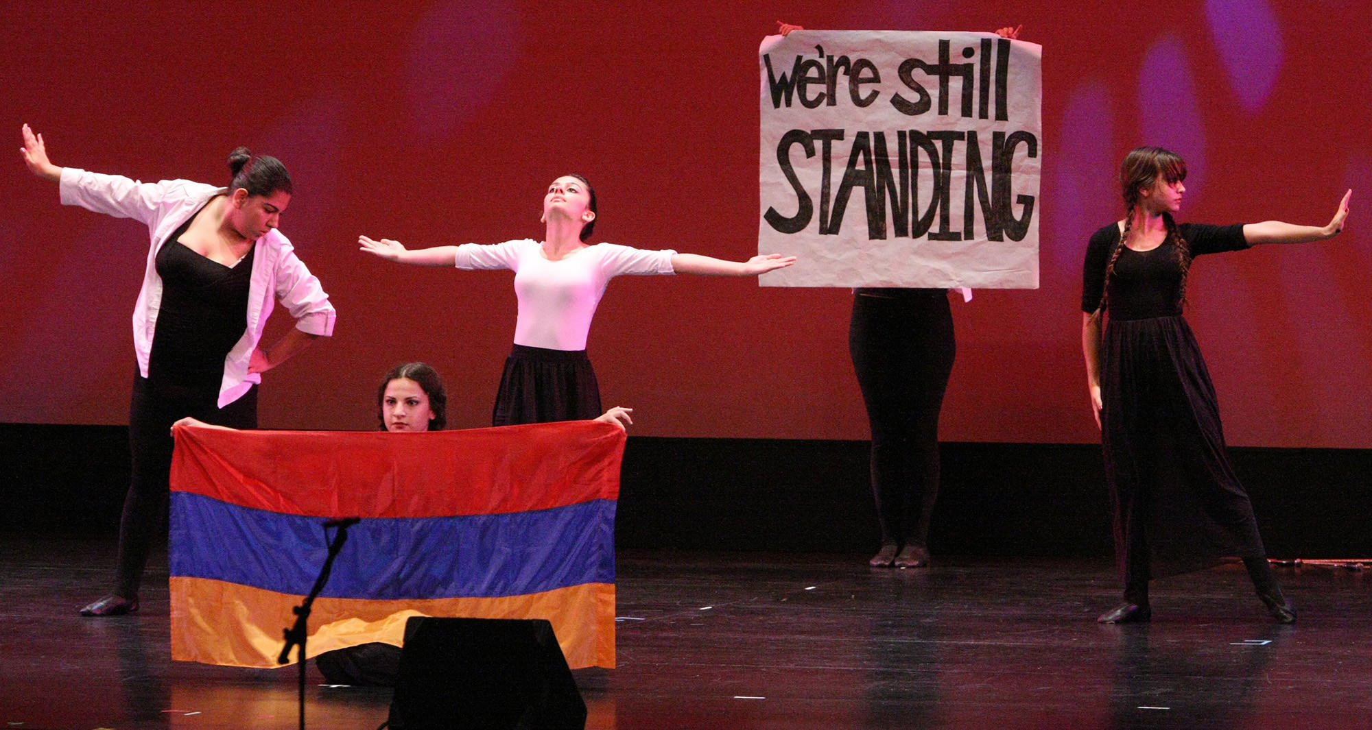 Glendale High School dancers perform during the 13th Annual Genocide Commemoration.