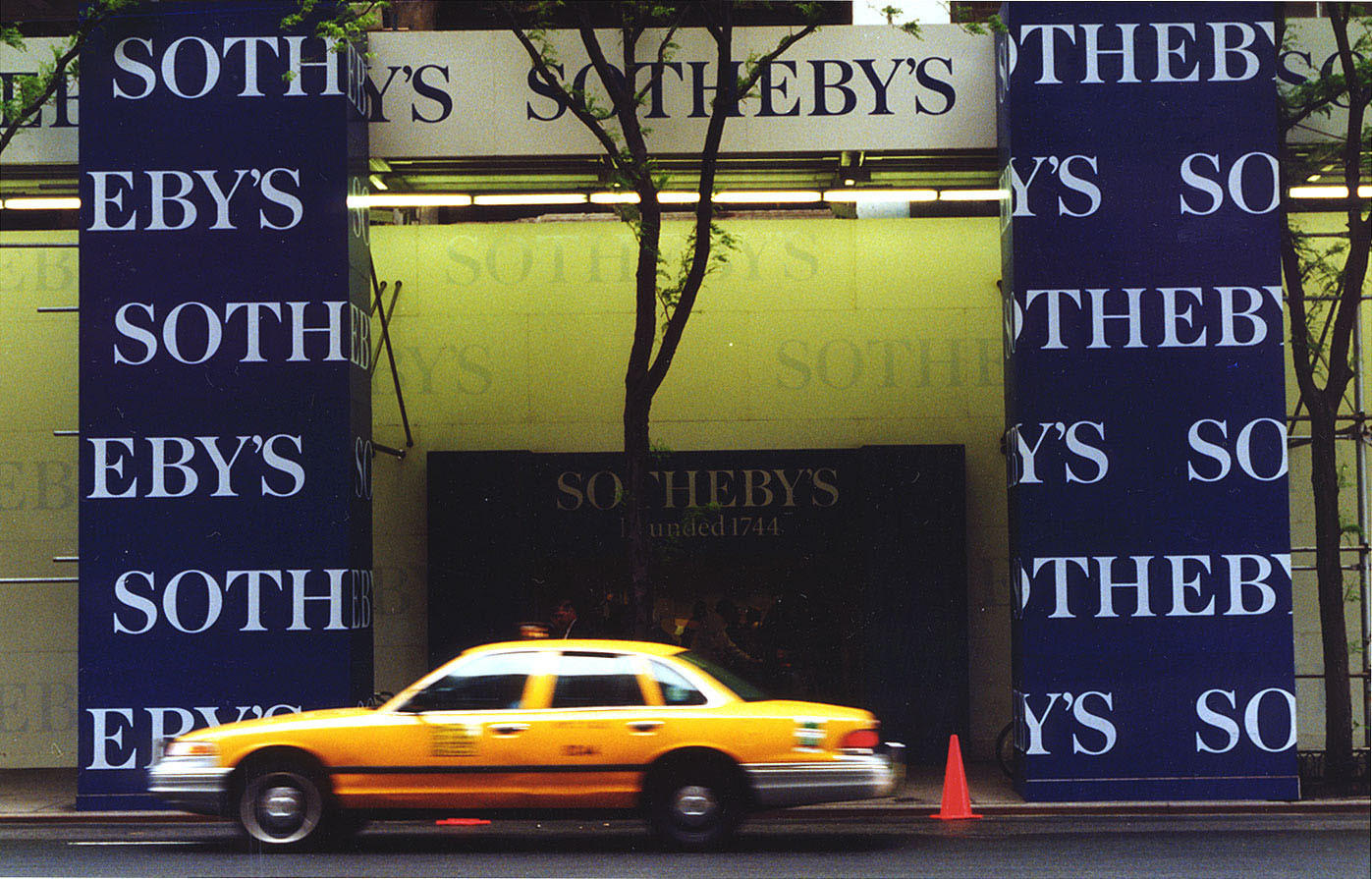 Southeby's Auction House in New York.