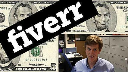 Fiverr.com: Burning $20 on the online marketplace