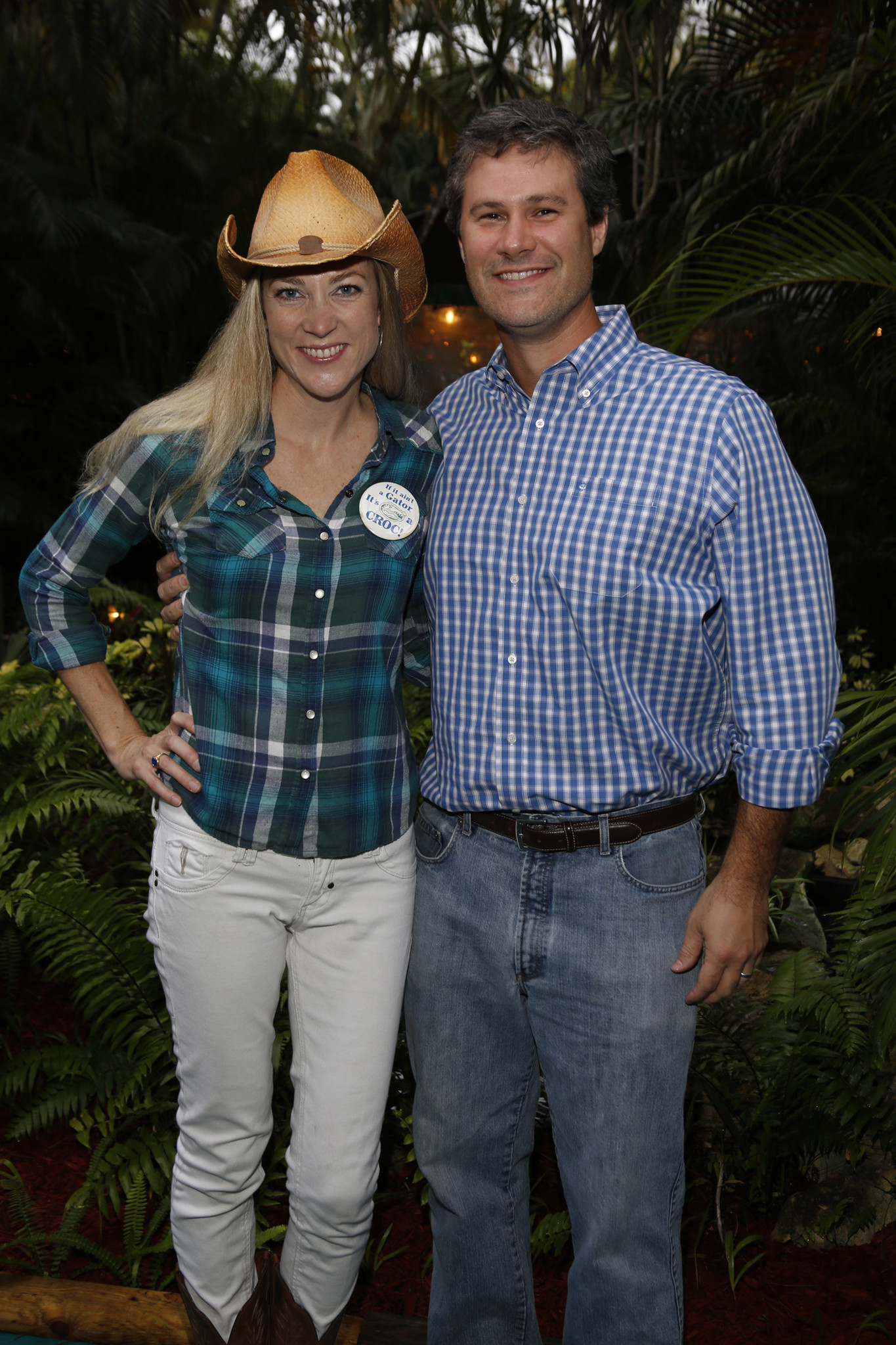 Society Scene photos - Chrissie Ferguson, left, and Matt Ferguson were among the nearly 150 supporters to don western wear for the seventh annual Young Friends of the Ryan Licht Sang Bipolar Foundation