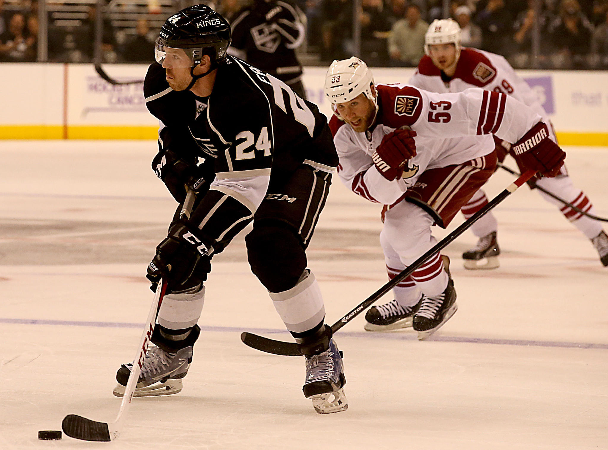 Colin Fraser, left, will be back with the Kings for Game 3 against San Jose.