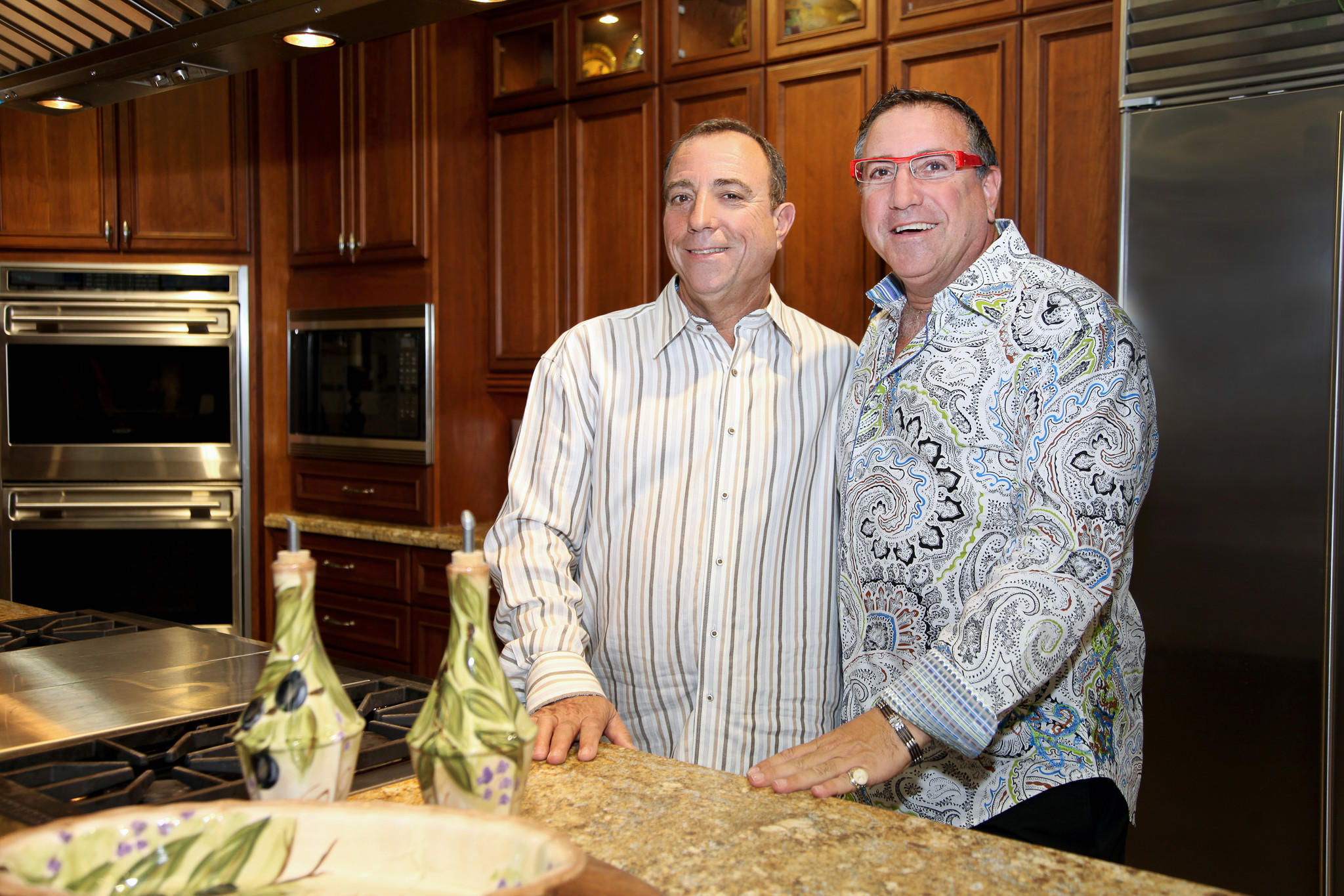 Joe Feinberg, left, and Bill Feinberg, co-founders of Allied Kitchen & Bath, announced plans to open an additional showroom at 3484 NE 12th Ave. Allied's main showroom is at 616 W. Oakland Park Blvd., Fort Lauderdale.