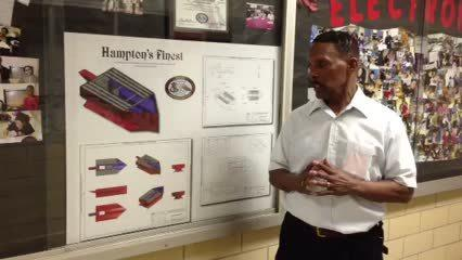 Ervin Myrick, Hampton High boat design team advisor