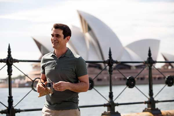 "A Down Under vacation on ""Modern Family."" With Ty Burrell."