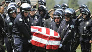 Funeral for LAPD Officer Chris Cortijo