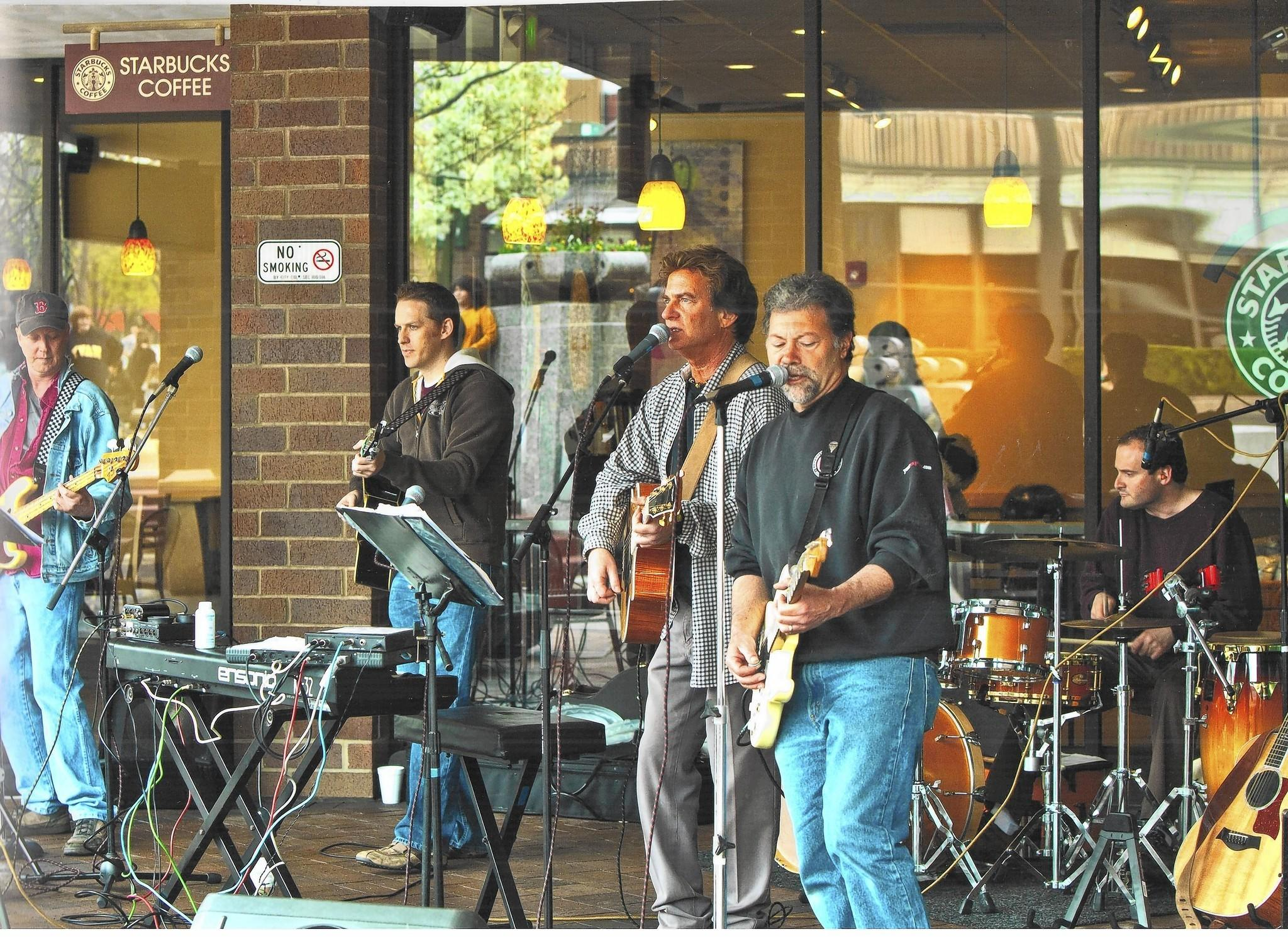 Dr. Mark and the Sutures play the annual Candy Days fundraiser in 2012.