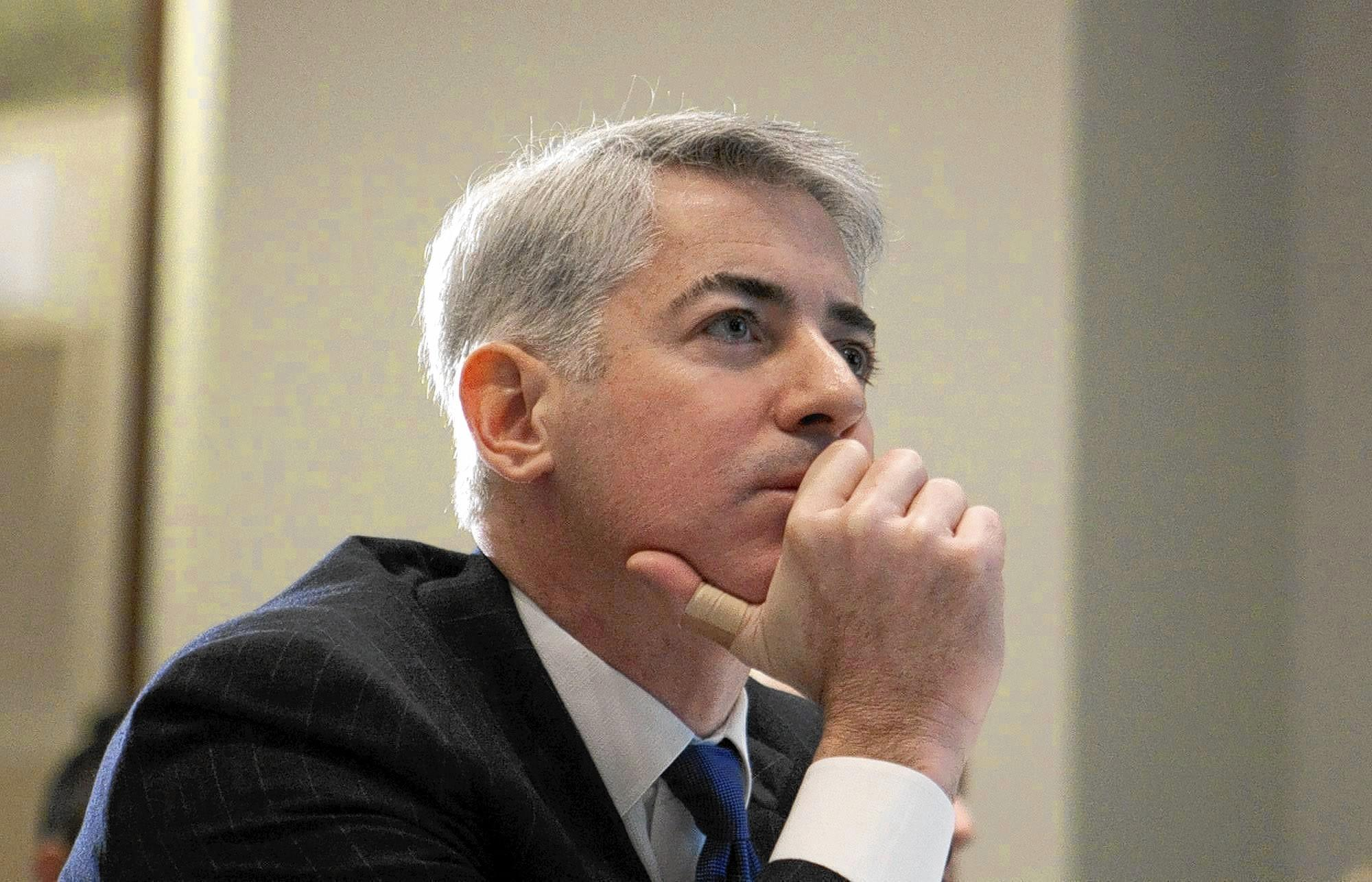 Bill Ackman warned Allergan not to reject Valeant's offer.