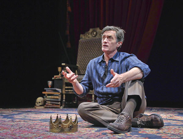 "Roger Rees in the one-man show ""What You Will"" at the Old Globe."