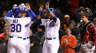 Cubs win 2 in row for 1st time this season