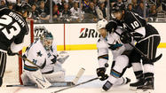 Kings pushed to brink of elimination with 4-3 loss to Sharks