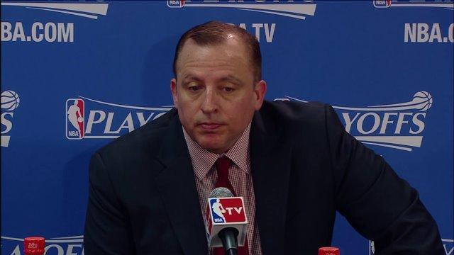 Video: Thibodeau, Gibson after Bulls' loss