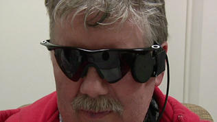Video: Michigan man sees thanks to 'bionic eye'