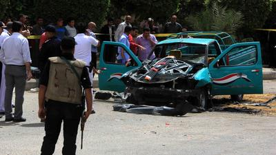 High-ranking Egyptian police official killed by car bomb