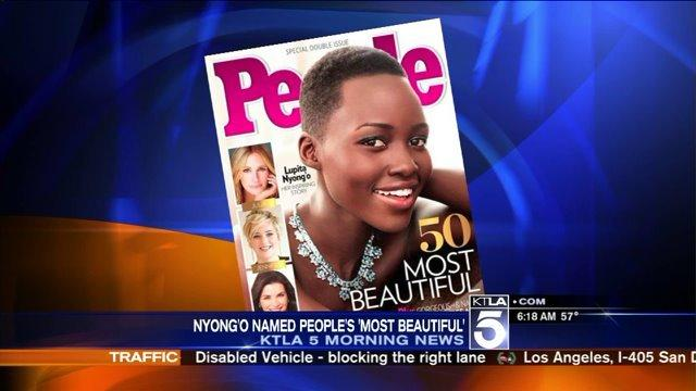 People Magazine Announced Lupita Nyong'o as 'Most Beautiful'