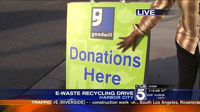 E-Waste Recycling Drive- 8th Annual